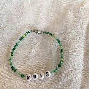 "handma Accessories - KRIS 6"" personalized bracelet-NEW"
